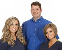 Dr. Jon McClure and his staff
